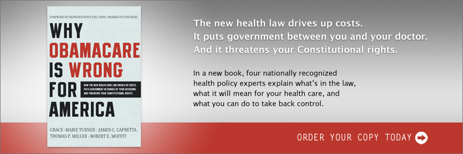 Order Now: Why ObamaCare Is Wrong for America